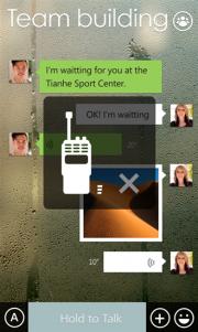 WeChat, mensajes y videollamadas en HD para Windows Phone