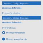 EMT presenta su aplicación para Windows Phone