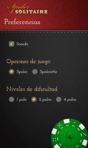 Spider, una nueva variante del clasico solitario disponible gratis
