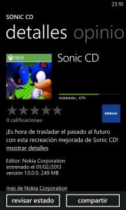 Sonic CD Nokia