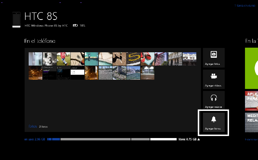 Windows Phone para W8