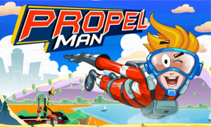 Propel Man y Orcs Must Survive dos juegos mas WP8 para estas fiestas