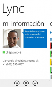 Lync 2013 para Windows Phone 8 ya disponible