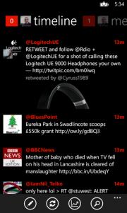 Mehdoh el popular cliente Twitter se actualiza y trae novedades.