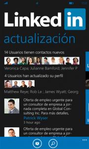 LinkedIn para Windows Phone 8 se actualiza con muchas novedades