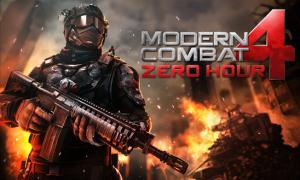 Modern Combat 4 Zero Hour ya disponible para descargar