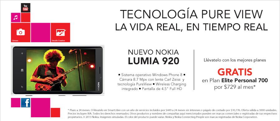 Nokia Lumia 920 Iusacell