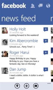 Llega la anunciada actualización de Facebook para Windows Phone 8 [Actualizado]