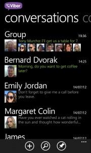 Viber para Windows Phone 7.X se actualiza con llamadas