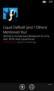 Unification un centro de notificaciones para Windows Phone 8