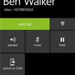 Viber actualiza su versión para Windows Phone 8