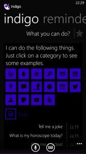 "Indigo, llega el ""Siri"" para Windows Phone 8"