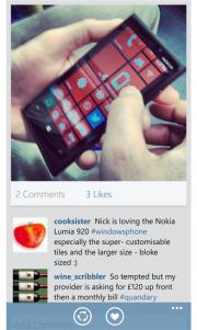 Itsdagram ya esta disponible para Windows Phone 8 [Actualizado]