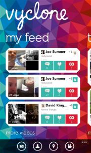 Vyclone, crea, comparte y sincroniza videos con tus amigos