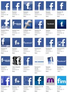 Retiradas de la Tienda las aplicaciones denunciadas por Facebook