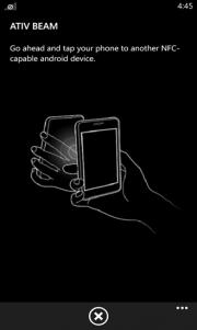 Ativ Beam la nueva aplicación exclusiva de Samsung
