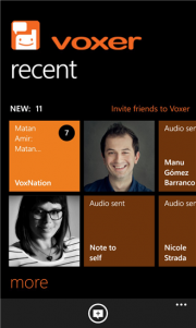 Voxer convierte tu WP 8 en un Walkie Talkie