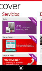 Vodafone lanza Discover su aplicación oficial para Windows Phone 8
