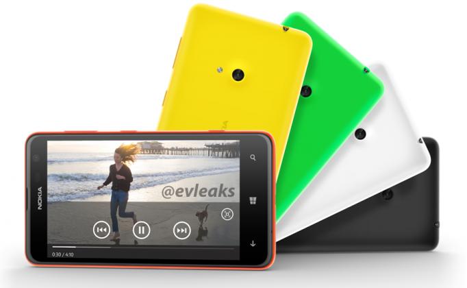 Nokia Lumia 625 filtrado y reveladas sus caracteristicas antes de su presentación de hoy
