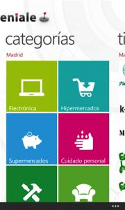 Geniale Ofertas llega a Windows Phone