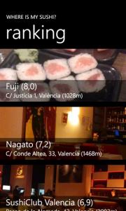 Where is my Sushi, la aplicación que te ayuda a encontrar el mejor Sushi
