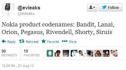 Nuevos dispositivos Nokia, filtrados los codenames.