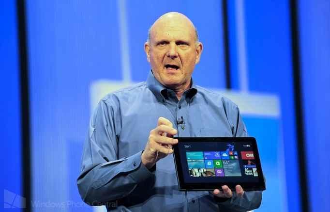 Steve Ballmer, CEO de Microsoft se retirará antes de un año