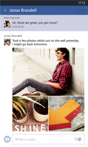 Facebook Beta para Windows Phone