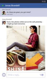Facebook Beta para Windows Phone