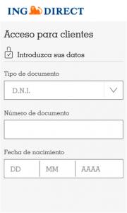 INGDirect lanza su aplicación para España