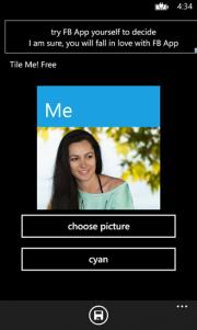 Tile Me!, crea tu imagen de perfil al estilo Windows Phone