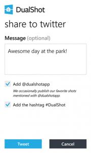 """DualShot ya disponible, """"Captura los dos lados de cada historia"""""""