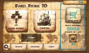 Babel Rising 3D ya disponible en la tienda