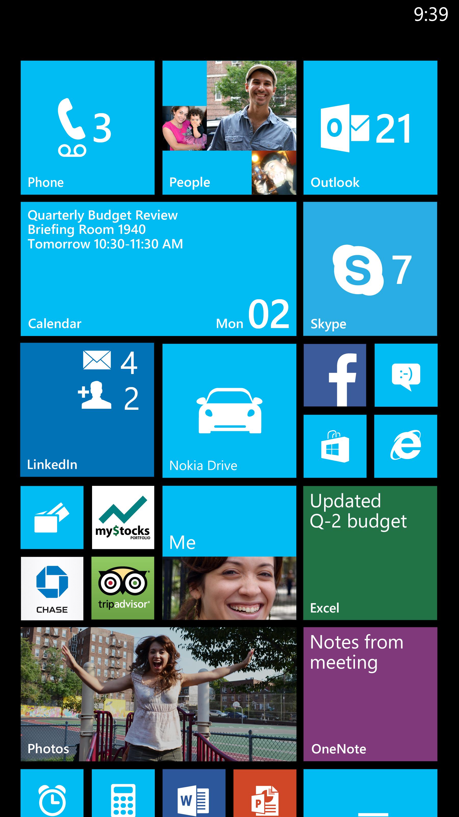StartScreen Windows Phone 8 Update 3