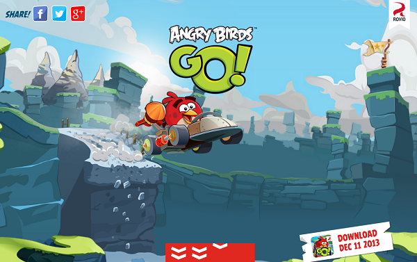 Angry Birds Go! para Windows Phone