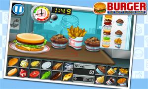 Burger, dirige tu propia hamburguesería desde tu Windows Phone