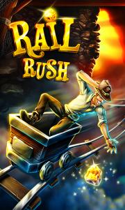 Rail Rush ya disponible en la tienda el nuevo juego de Miniclip