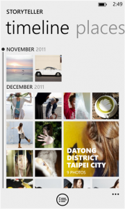 Nokia Storyteller BETA ya disponible para Windows Phone 8