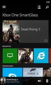 Xbox One SmartGlass disponible en la tienda