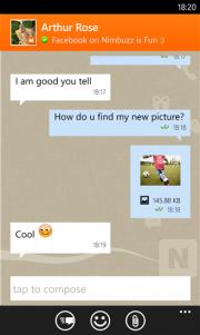 Nimbuzz se actualiza con llamadas gratis para Windows Phone 8