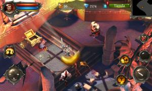 Dungeon Hunter 4 un nuevo juego Gameloft disponible gratis