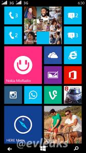 Nokia Lumia 630 nuevo render filtrado