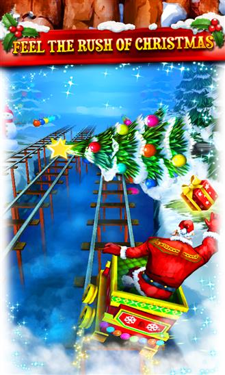 Rail Rush se actualiza y se prepara para la navidad.