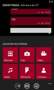 WhatsApp se actualiza y permite enviar vídeos desde la galería ademas de otras mejoras [Actualizado]