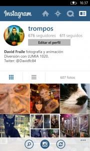 Instagram Beta se actualiza con mejoras