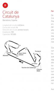 ESPN F1 para Windows Phone ya está disponible