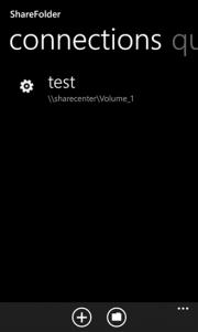 ShareFolder explorador de archivos para Windows Phone 8