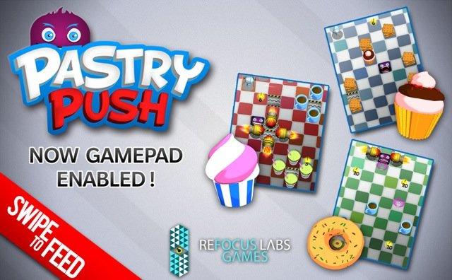 Pastry Push para Windows Phone 8
