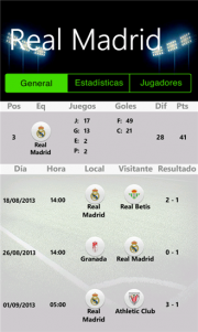 Roloj una curiosa aplicación para seguir el fútbol de España, México y Argentina