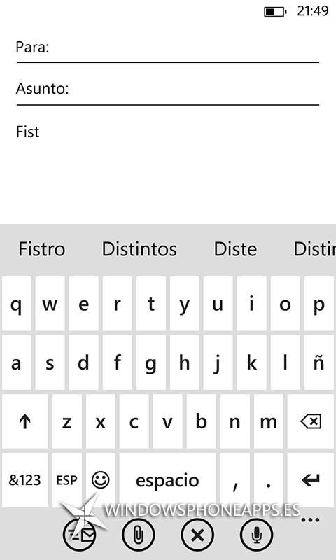 Como configurar el teclado de Windows Phone 8 a tu gusto